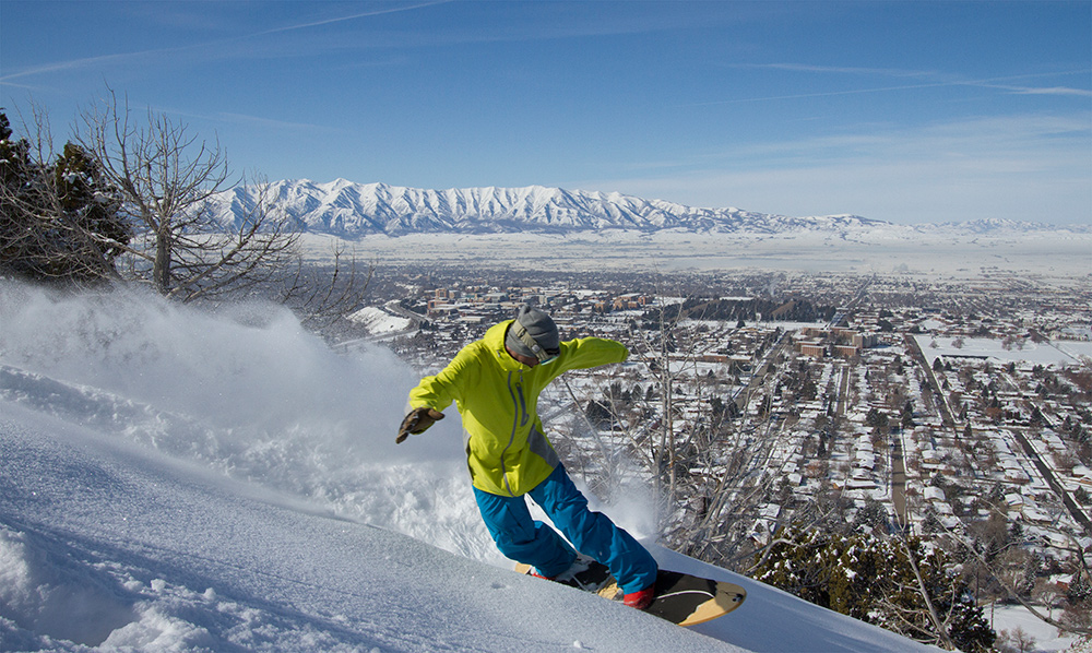 On the Slopes and in the Classroom, Jeremy Jensen Focuses on Freedom | CEHS