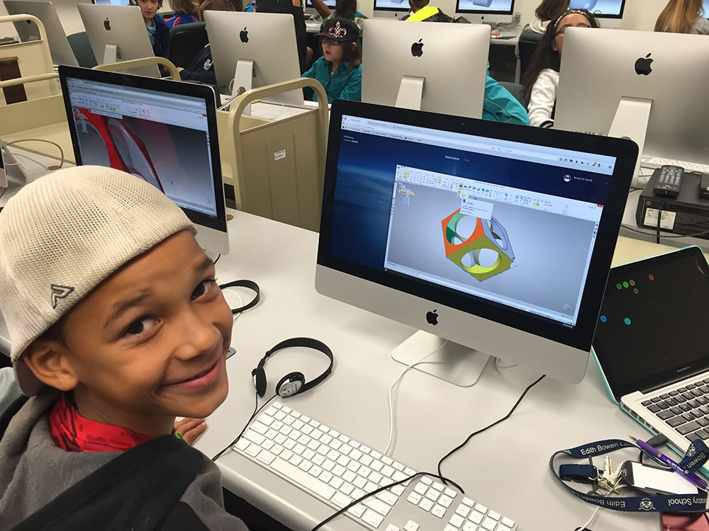 Fifth-graders Use College-level Software to Unleash Their Creativity | CEHS