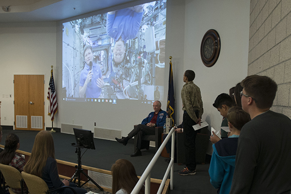 I Dare You to Dream: USU Partners with NASA and Sen. Orrin Hatch for Live Feed from Space | CEHS