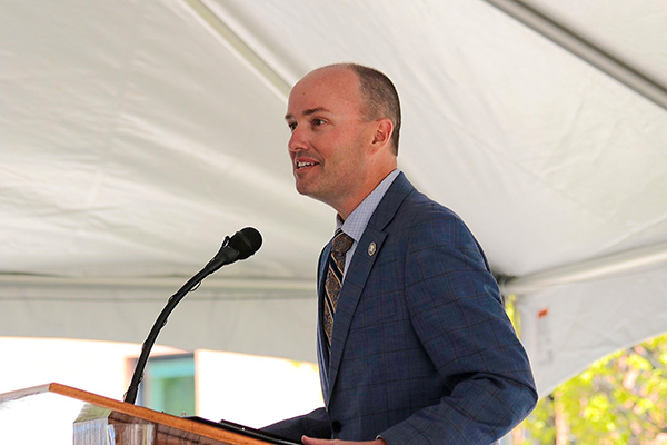 Utah Lt. Governor Spencer Cox Helps Open the Sorenson Legacy Foundation Center for Clinical Excellence | CEHS