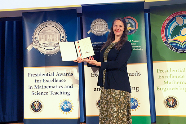 TEAL Student Receives Presidential Award